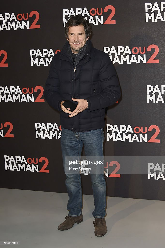 Guillaume Canet attends the 'Papa ou Maman 2' Paris Premiere at Cinema Gaumon Alesia on December 5, 2016 in Paris, France.