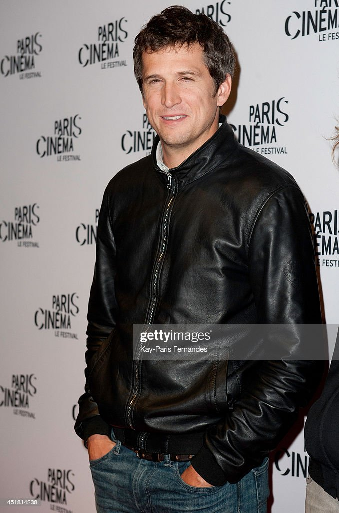 Guillaume Canet attends the Paris premiere of 'LÕHomme quÕon aimait trop' on day 3 of the Fesitval Paris Cinema on July 7 2014 in Paris France