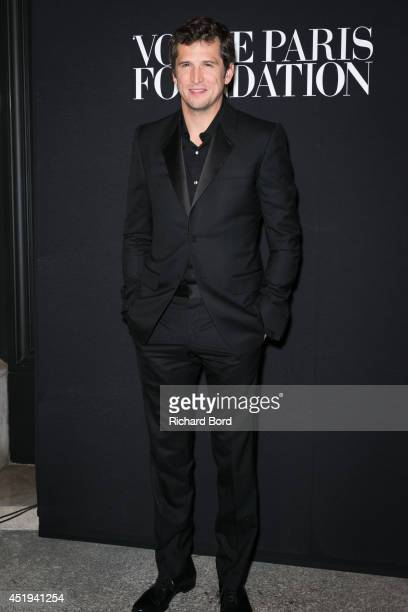 Guillaume Canet attends the Vogue Foundation Gala as part of Paris Fashion Week at Palais Galliera on July 9 2014 in Paris France