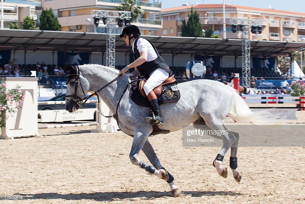 Guillaume Canet takes part in the 'Longines Global Champions Tour of Cannes 2013' on June 13, 2013 in Cannes, France.
