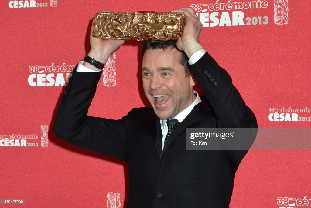Guillaume de Tonquedec attends the Awards Room - Cesar Film Awards 2013 at the Theatre du Chatelet on February 22, 2013 in Paris, France.