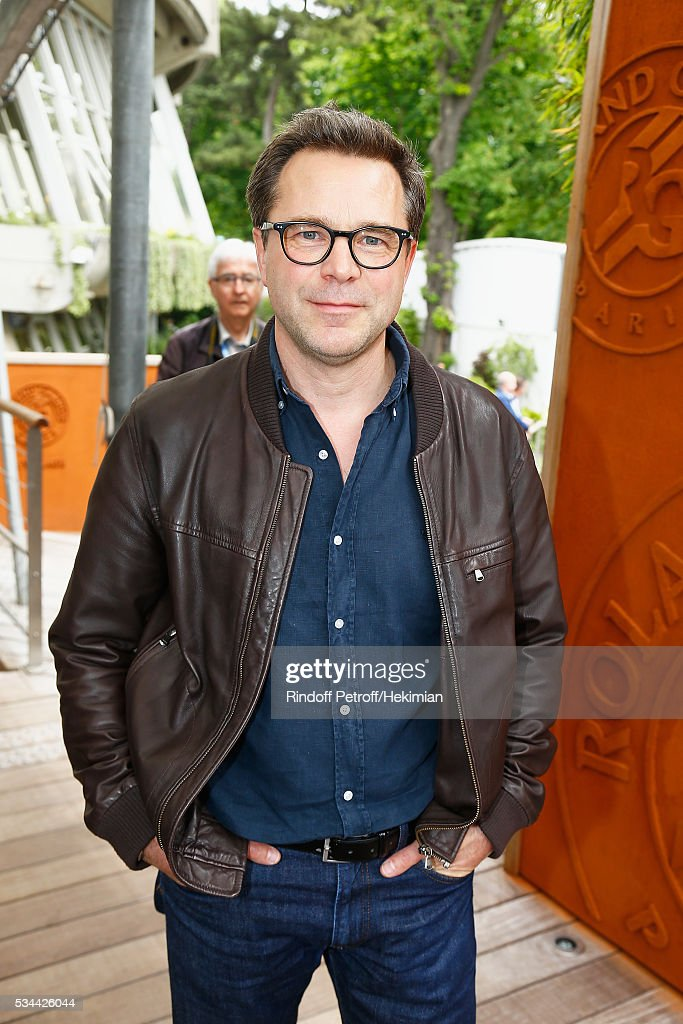 Guillaume de Tonquedec attends the French Tennis Open Day Five at Roland Garros on May 26, 2016 in Paris, France.