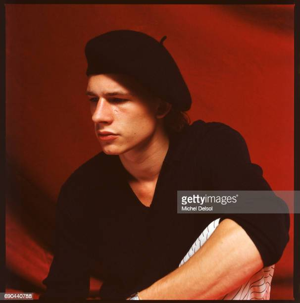 Guillaume Depardieu was a french actor winner of a Cesar award and the oldest child of Gerard Depardieu during the promotion of the film 'Tous les...