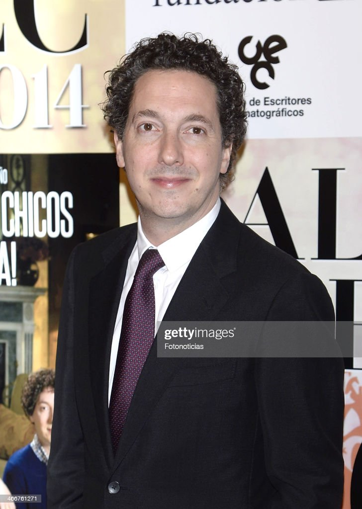 Guillaume Gallienne attends the 'CEC' medals 2014 ceremony at the Palafox cinema on February 3, 2014 in Madrid, Spain.