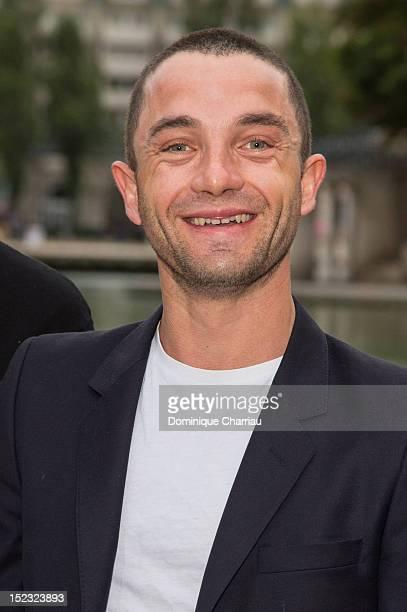 Guillaume Gouix attends 'Alyah ' Paris Premiere at Mk2 Quai de Seine on September 18 2012 in Paris France