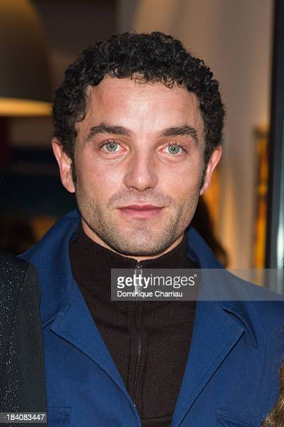 Guillaume Gouix attends the 'Attila Marcel' Photocall during the 18th Young Directors International Festival on October 11 2013 in Saint Jean de Luz...