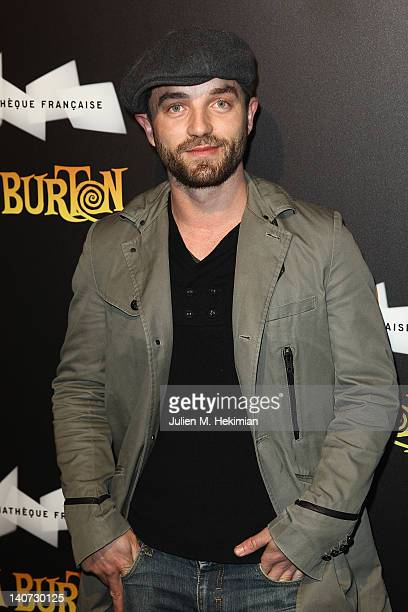 Guillaume Gouix attends the Tim Burton Exhibition Launch at La Cinematheque on March 5 2012 in Paris France