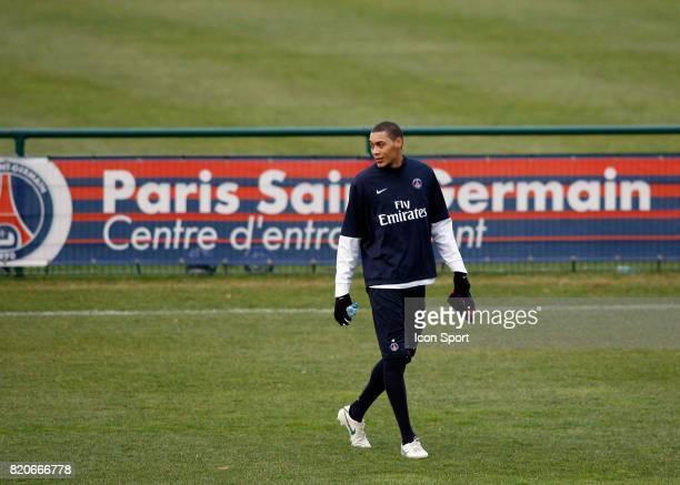Guillaume HOARAU Entrainement du PSG Camp des Loges Saint Germain en Laye