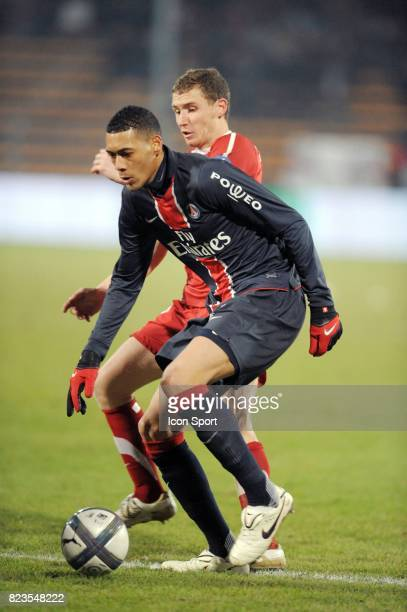 Guillaume HOARAU Valenciennes / PSG 17eme journee de Ligue1