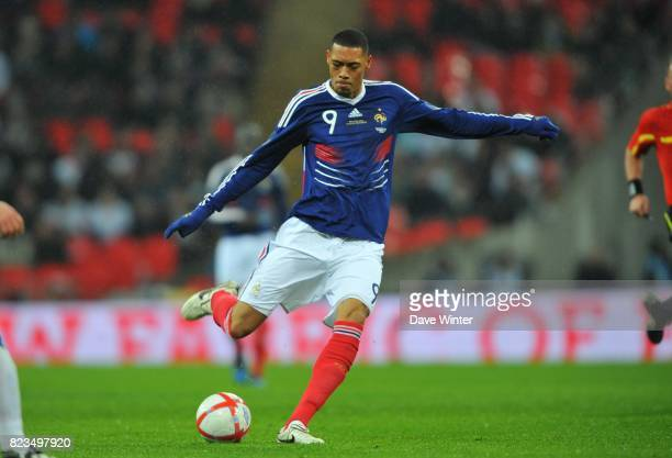 Guillaume HOARAU France / Angleterre Match amical Londres