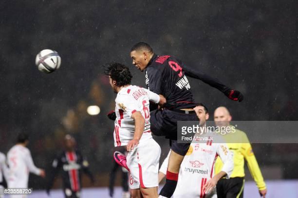 Guillaume HOARAU Nancy / PSG 19eme journee de Ligue 1