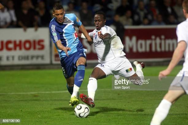 Guillaume HOARAU / Eloge ENZA Le Havre / Troyes 8 eme journee de Ligue 2