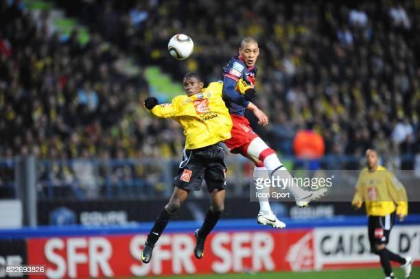 Guillaume HOARAU / Fodie TRAORE Quevilly / Paris Saint Germain 1/2 finale Coupe de France Stade Michel D'Ornano Caen