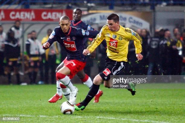 Guillaume HOARAU / Frederic WEIS Quevilly / Paris Saint Germain 1/2 finale Coupe de France Stade Michel D'Ornano Caen