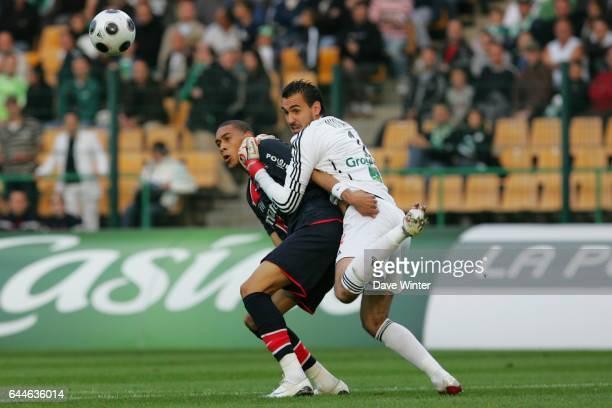 Guillaume HOARAU / Jody VIVIANI Saint Etienne / PSG 6e journee de Ligue 1 Photo Dave Winter / Icon Sport