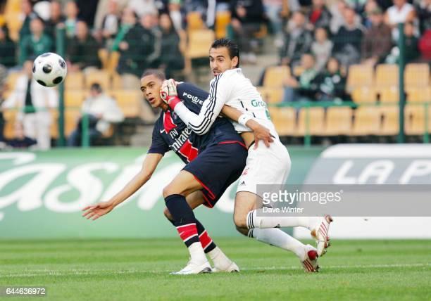 Guillaume HOARAU / Jody VIVIANI Saint Etienne / PSG Ligue 1 6e journee Photo Dave Winter / Icon Sport