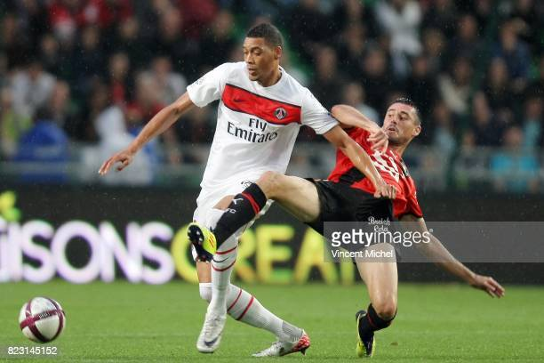 Guillaume HOARAU / Julien FERET Rennes / PSG 2eme journee de Ligue 1