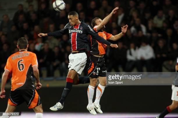 Guillaume HOARAU / Maxime BACA Lorient / Paris Saint Germain 13e journee Ligue 1