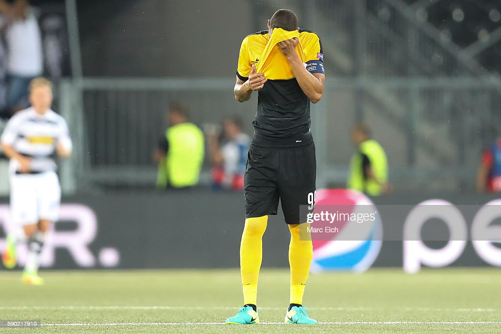 BSC Young Boys v Borussia Moenchengladbach - UEFA Champions League Qualifying Play-Offs Round: First Leg