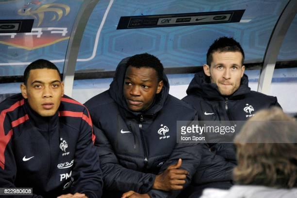 Guillaume HOARAU / Steve MADANDA / Yohan CABAYE France / Bresil Match amical Stade de France