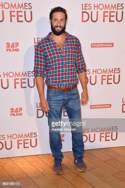 Guillaume Labbe attends the 'Les Hommes du feu' Paris premiere at Cinema Pathe Beaugrenelle on June 23 2017 in Paris France
