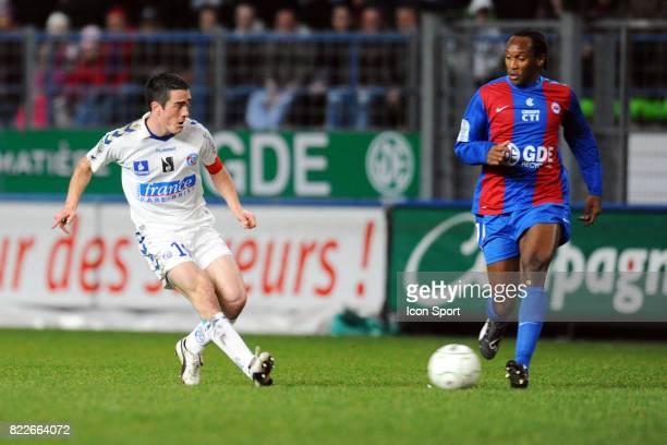 Guillaume LACOUR Caen / Strasbourg 26eme journee de Ligue 2 Stade Michel D'Ornano