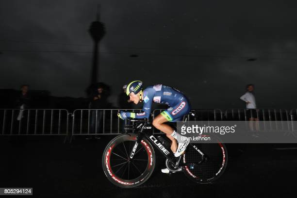 Guillaume Martin of France and Wanty – Groupe Gobert competes during stage one of Le Tour de France 2017 a 14km individual time trial on July 1 2017...