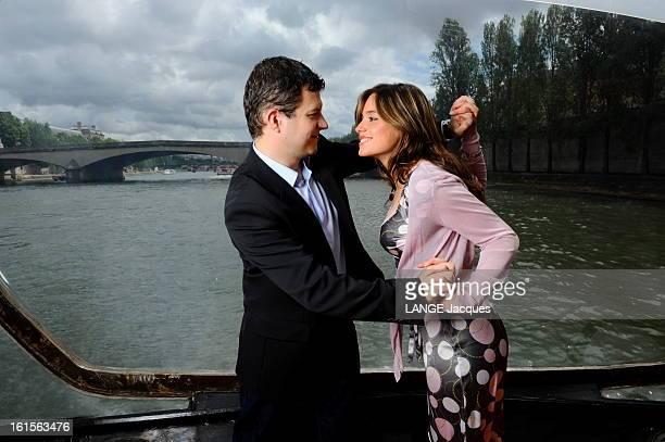Guillaume Musso And Her Companion Ingrid In Paris Paris 9 juin 2009 à 35 ans Guillaume MUSSO a déjà vendu plus d'un million de livres Pour la...