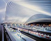 Guillemins train Station, by Santiago Calatrava.