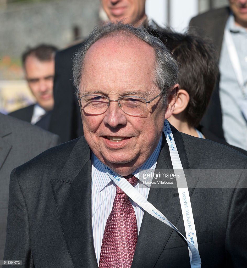Guillermo Antonio Calvo, an Argentine-American economist who is Director of Columbia University's mid-career Program in Economic Policy Management in their School of International and Public Affairs, arrives to participate as speaker in the ECB Forum on Central Banking on June 27, 2016 in Sintra, Portugal. The third annual European Central Bank Forum on Central Banking focuses on 'The future of the international monetary and financial architecture', a key topic of debate among economists and policymakers. Some 150 central bank governors, academics, financial journalists and high-level financial market representatives will discuss current policy issues and the chosen topic from a longer-term perspective.