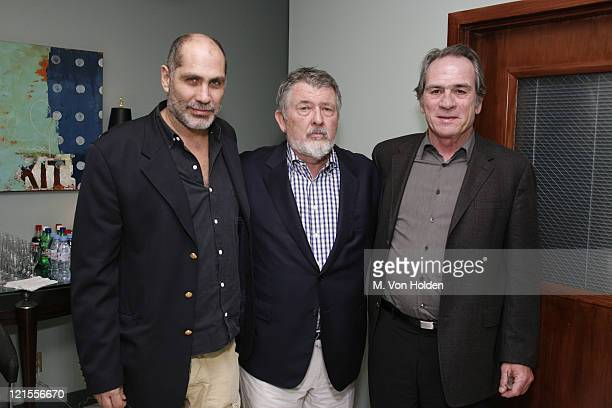 Guillermo Arriaga Tommy Lee Jones Walter Hill during The 9th Annual SCAD Savannah Film Festival 'The Three Burials of Melquiades Estrada' Screening...