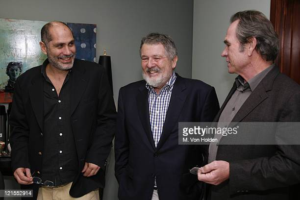 Guillermo Arriaga Walter Hill and Tommy Lee Jones