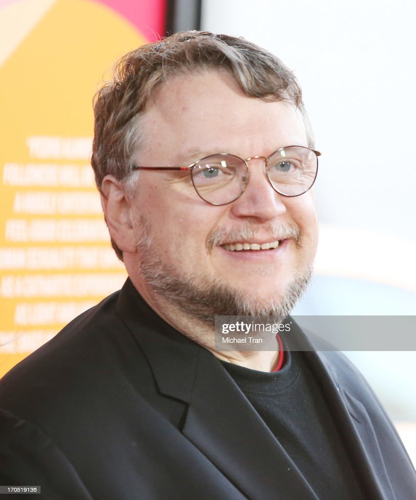 Guillermo del Toro arrives at the 2013 Los Angeles Film Festival 'I'm So Excited' opening night premiere held at Regal Cinemas LA LIVE Stadium 14 on...