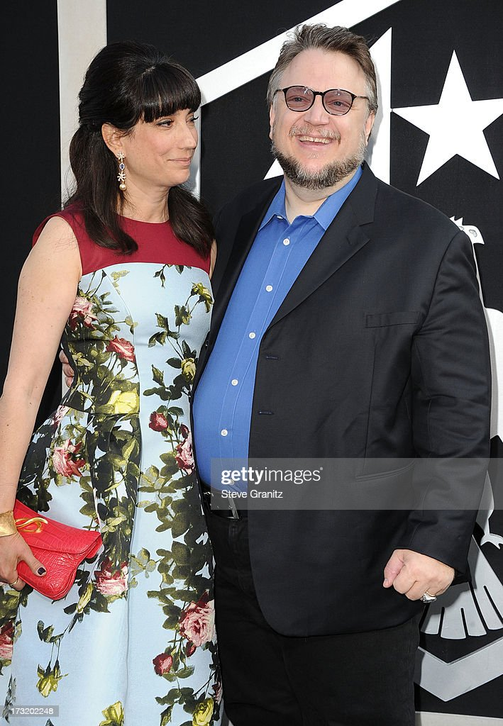 Guillermo del Toro arrives at the 'Pacific Rim' - Los Angeles Premiere at Dolby Theatre on July 9, 2013 in Hollywood, California.