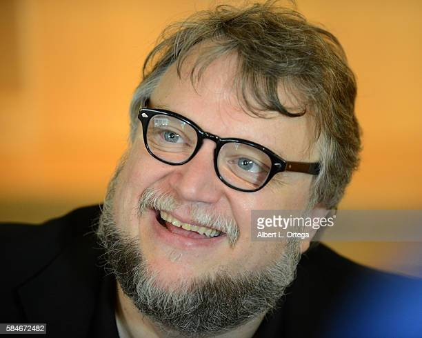 Guillermo Del Toro attends a book signing for 'Guillermo Del Toro At Home With Monsters' held at LACMA on July 29 2016 in Los Angeles California