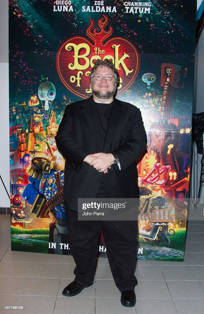 Guillermo del Toro attends The Book Of Life red carpet screening at Regal South Beach on October 13 2014 in Miami Florida