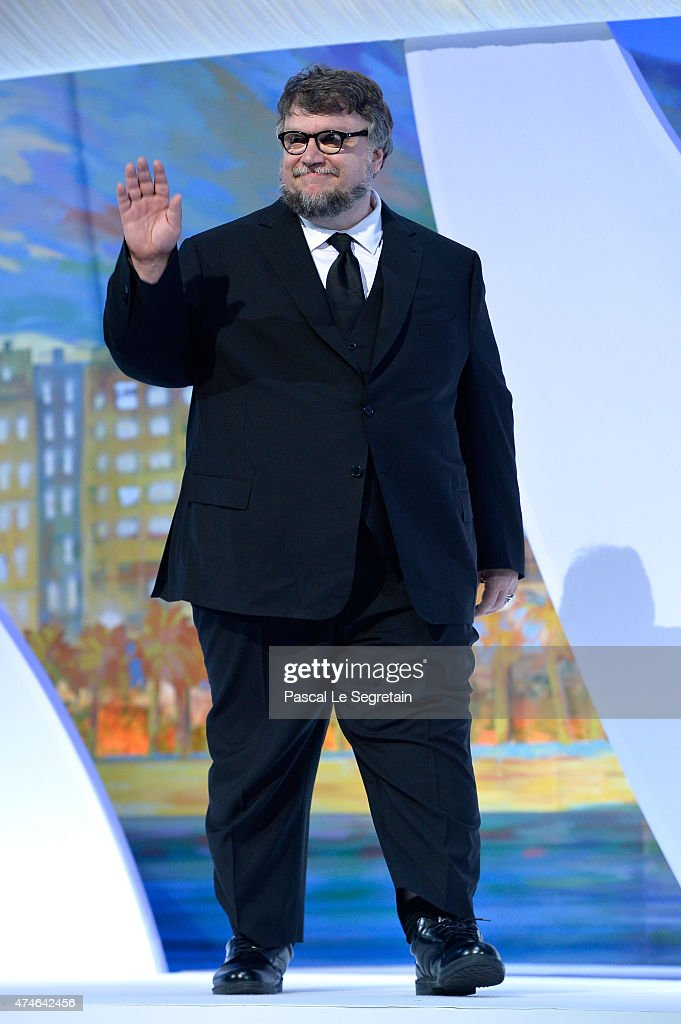 Guillermo del Toro attends the closing ceremony during the 68th annual Cannes Film Festival on May 24 2015 in Cannes France