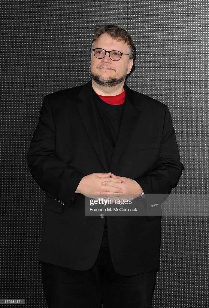<a gi-track='captionPersonalityLinkClicked' href=/galleries/search?phrase=Guillermo+del+Toro&family=editorial&specificpeople=609181 ng-click='$event.stopPropagation()'>Guillermo del Toro</a> attends the European Premiere of 'Pacific Rim' at BFI IMAX on July 4, 2013 in London, England.
