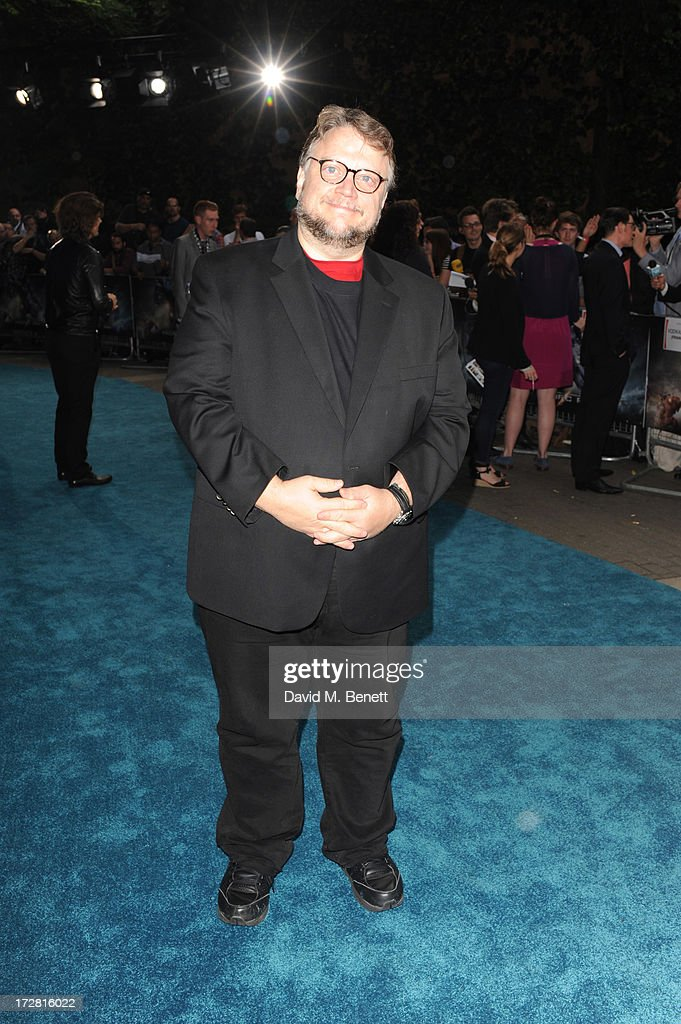 Guillermo Del Toro attends the European Premiere of 'Pacific Rim' at BFI IMAX on July 4, 2013 in London, England.