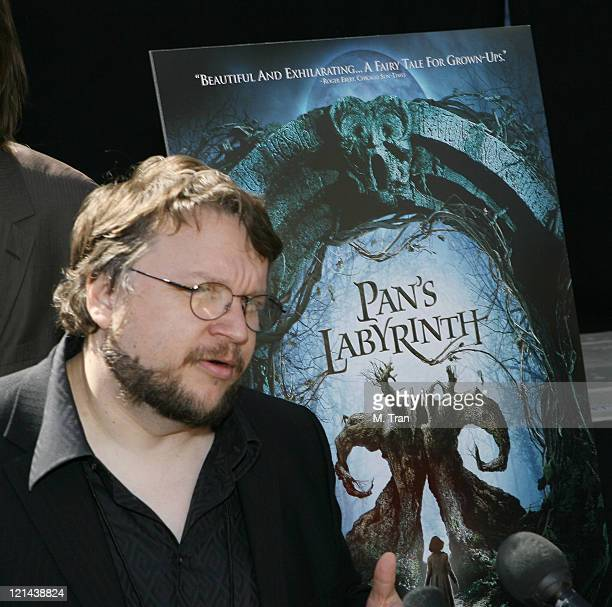 Guillermo del Toro during The 79th Annual Academy Awards Foreign Language Film Award Photo Op at Kodak Theater in Hollywood California United States