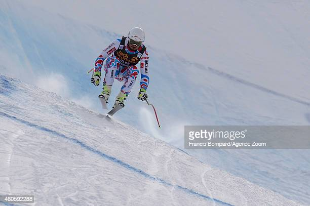 Guillermo Fayed of France competes during the Audi FIS Alpine Ski World Cup Men's Downhill Training on December 17 2014 in Val Gardena Italy