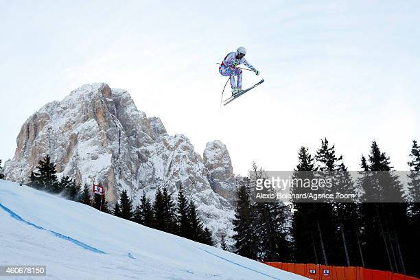 Guillermo Fayed of France competes during the Audi FIS Alpine Ski World Cup Men's Downhill on December 19 2014 in Val Gardena Italy