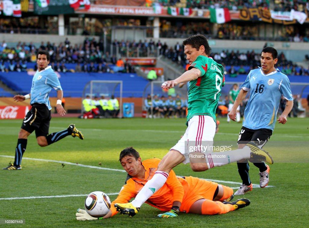 Mexico v Uruguay: Group A - 2010 FIFA World Cup