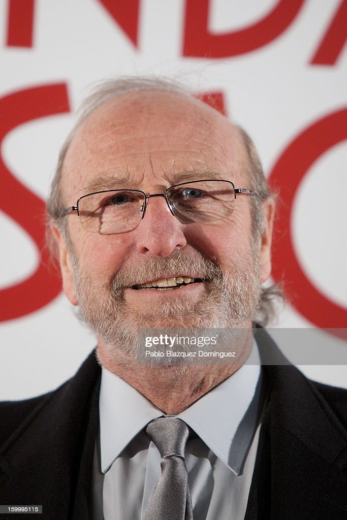 Guillermo Summers attends 'La Banda Picasso' Premiere at Capitol Cinema on January 24, 2013 in Madrid, Spain.