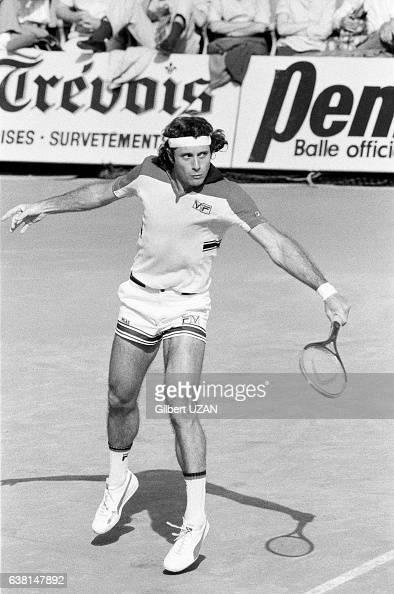 Guillermo Vilas lors de la demifinale des Internationaux de France de RolandGarros le 8 juin 1979 à Paris France