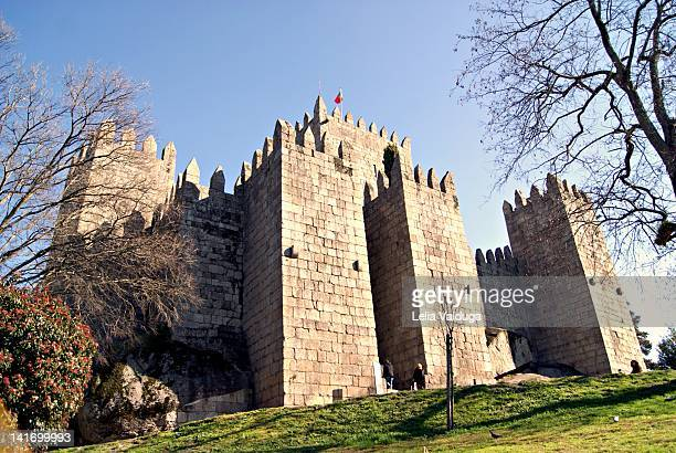 Guimaraes Castle in Portugal