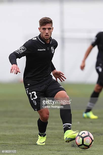 Guimaraes' forward Joao Vigario during the Portuguese Cup match between Santa Iria and Guimaraes at Campo do Sacavenense on October 16 2016 in Lisbon...