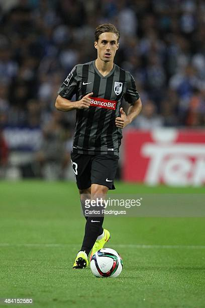 Guimaraes's defender Pedro Correia during the match between FC Porto and Vitoria Guimaraes for the Portuguese Primeira Liga at Estadio do Dragao on...