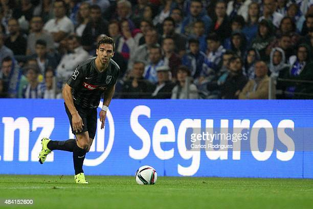 Guimaraes's forward Tomane during the match between FC Porto and Vitoria Guimaraes for the Portuguese Primeira Liga at Estadio do Dragao on August 15...
