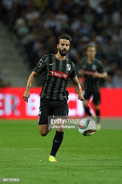 Guimaraes's midfielder Alex during the match between FC Porto and Vitoria Guimaraes for the Portuguese Primeira Liga at Estadio do Dragao on August...